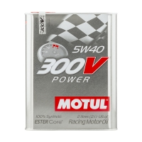 Моторное масло Motul 300V Power 5W40, 2 л