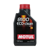 Моторное масло MOTUL 8100 Eco-clean 0W30, 1л