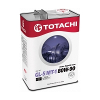 TOTACHI Extra Hypoid Gear GL-5/MT-1 80W90, 4л 4562374691964